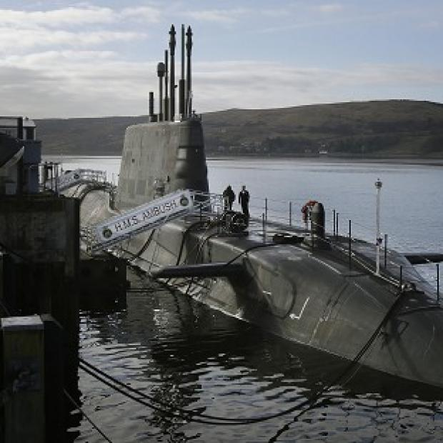 Mid Devon Star: A survey found 41 per cent of Scots would be happy with Britain's nuclear submarines remaining on the Clyde even if the country becomes independent