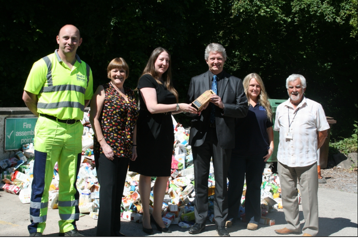 District council wins carton award
