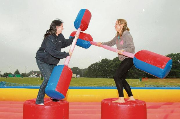 Family fun at Exe Valley Leisure Centre