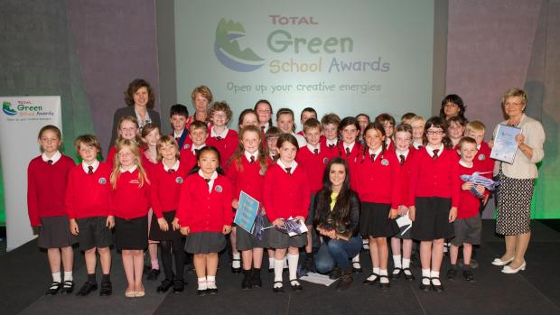 Okehampton Primary School winners of Total Green School Awards
