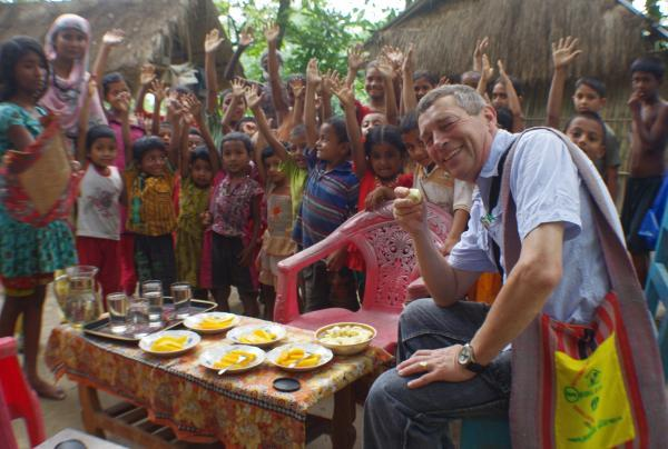 Charity founder backs progress in Bangladesh region