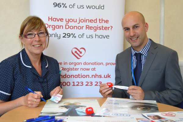 Mid Devon Star: Trust visits Barnstaple High Street to encourage local people to join Organ Donor Register