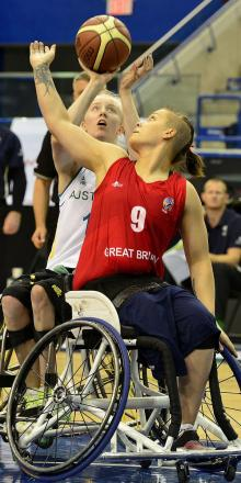 BASKETBALL: Hamer helps take wheelchair basketball to new heights
