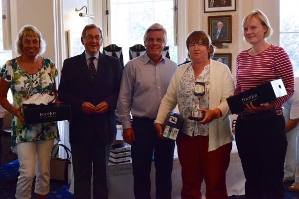 Heavy showers couldn't dampen spirits at local Golf Day
