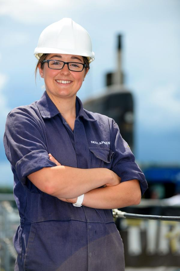 Plymouth apprentice scoops MOD apprentice of the year award