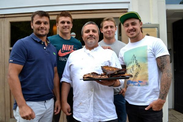 Exeter Chiefs rugby stars ultimate taste test
