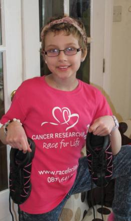 Courageous Jasmine to openRace for Life