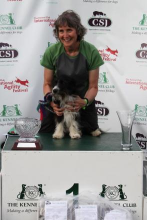 Tiverton Agility Star Crowned Winner At International Event