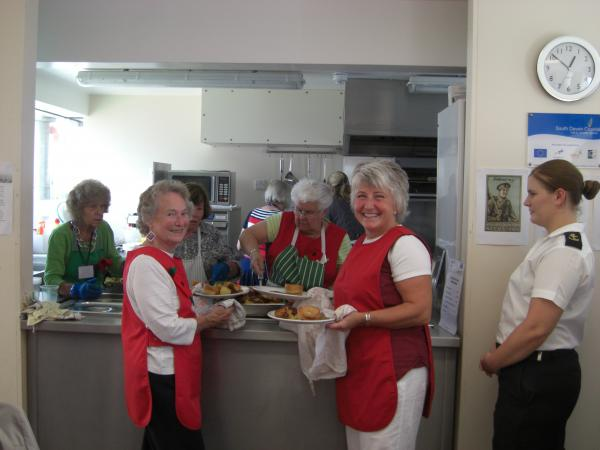Dartmouth Caring's WW1 Remembrance Lunch Club was a Wonderful Success