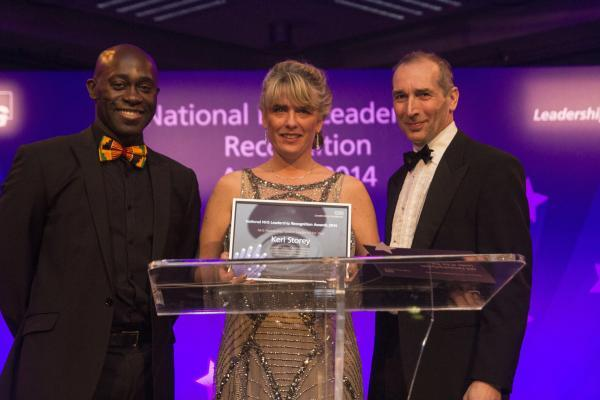 Devon winner reflects on success in NHS Leadership Recognition Awards