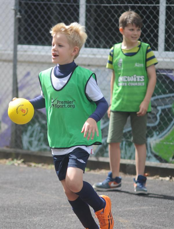 PHOTOS: Premier Sport days at Tiverton Youth Centre