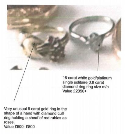 Valuable jewellery stolen in Plymstock burglary