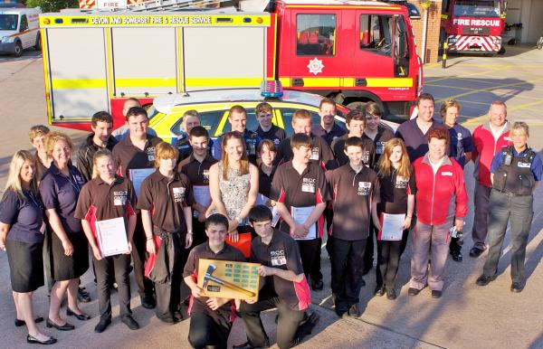 Exmouth Cadets complete ten-week co