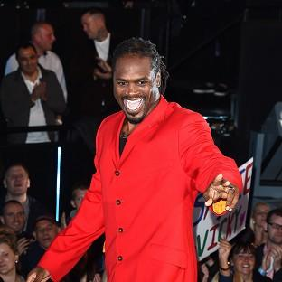 Audley Harrison has been reprimanded for his use of potentially '