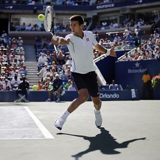 Novak Djokovic had the easiest of matches as he eased into the third round of the US Open (AP)