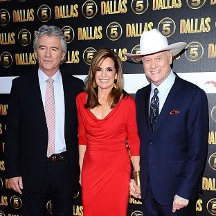 Patrick Duffy, Linda Gray and the late Larry Hagman were part of the original Dallas line-up
