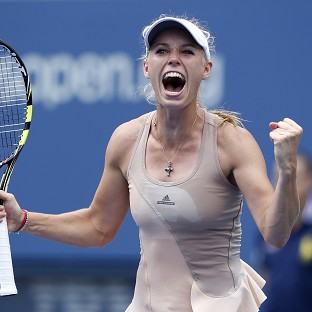 Wozniacki back in the big time