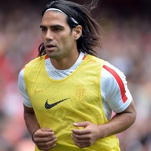 United worked late into the night to sign Radamel Falcao