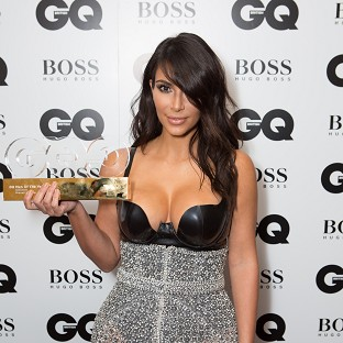 Kim Kardashian revealed she is thankful for her curves