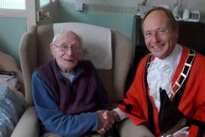 Meet two of Mid Devon's oldest residents - aged 105 and 106
