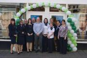 Anniversary celebrations at Tiverton Specsavers