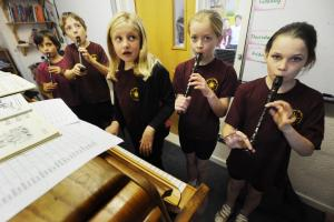 PHOTOS: Musical magic at Tidcombe Primary School