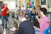 Jazz treat for QE pupils