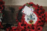 Vandals set fire to poppy wreaths at Crediton war memorial