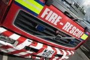 Firefighters attend vehicle blaze in West Anstey