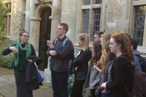 Oxford visit for QE students