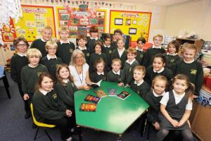 PHOTOS: Author visit at Uplowman Primary School