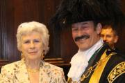 Long serving former Exeter City Councillor receives Freedom of the City