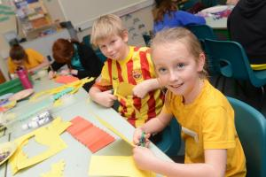 PHOTOS: Chinese New Year celebrations at Tiverton Primary School's