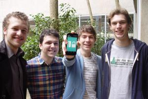Students' innovative home security system scoops global technology prize