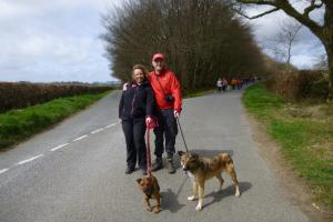 Record turnout for local charity's 50th anniversary sponsored walk