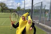 Tennis fun and fundraising at Blundell's