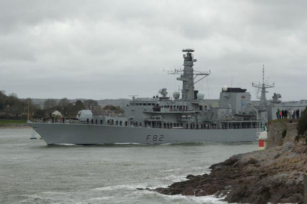 HMS Somerset 20 years of service